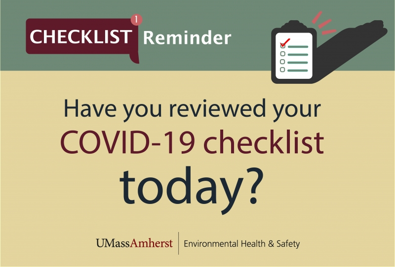 COVID-19 Daily Self-Checklist English