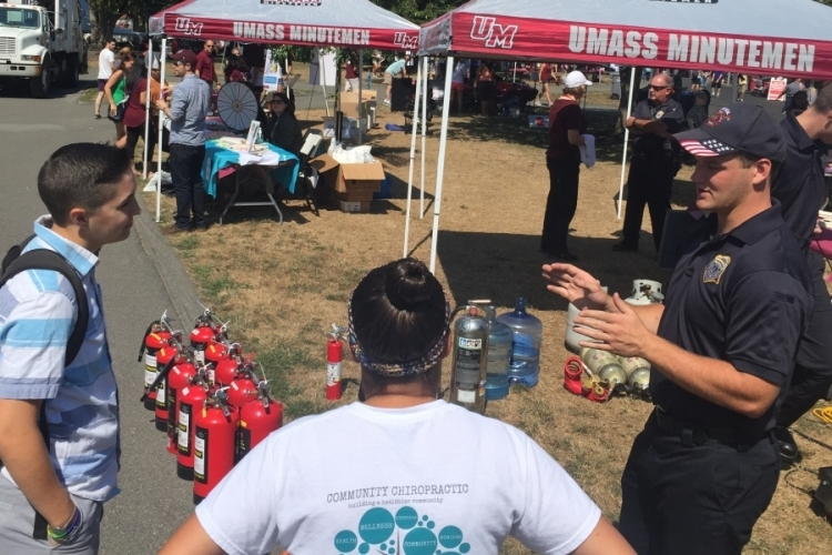 Fire Safety Staff at UFest