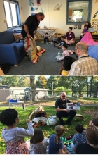 Fire Safety Education with the children