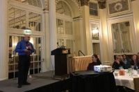 Robert Laford presented on Meningitis response to IAEM conference