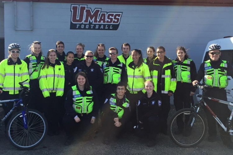 EMT Training | Environmental Health & Safety | UMass Amherst